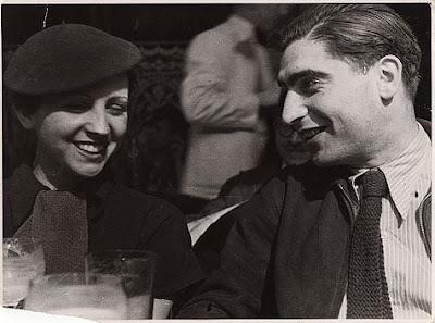 Gerda Taro y Robert Capa