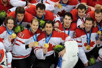 Equipo canadiense de hockey sobre hielo - Vancouver 2010