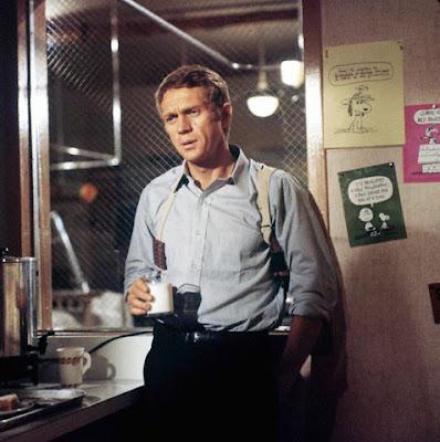 Steve McQueen en Bullitt (1968)