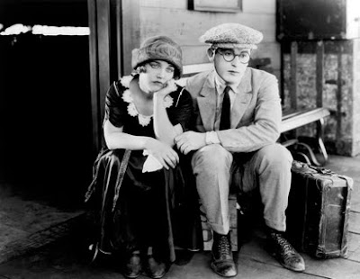 Harold Lloyd y Mildred Davis