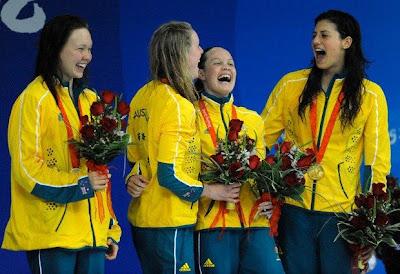 Australia, oro y récord mundial en los relevos 4x200 metros libres