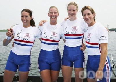 Gifu 2005 - Gran Bretaña, campeonas del mundo en Cuatro Scull