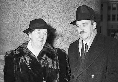 Elizabeth Gurley Flynn y Earl Browder