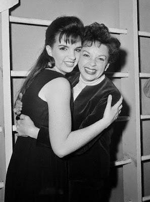 Judy Garland y Liza Minnelli en 1963