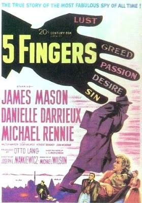 Operación Cicerón (Five Fingers, 1952)