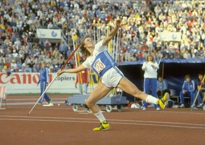 Tiina Lillak - Helsinki 1983