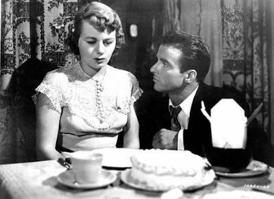 Shelley Winters y Montgomery Clift en Un lugar en el sol (A place in the sun, 1951)