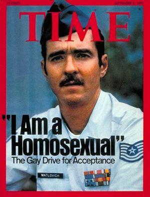 Leonard Matlovich, Time, Septiembre 1975