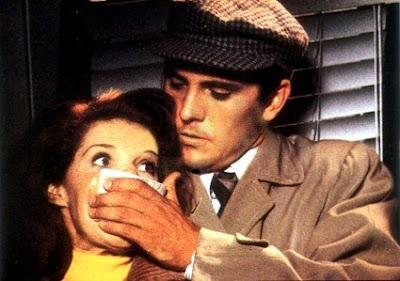 Terence Stamp y Samantha Eggar en El Coleccionista (1965)
