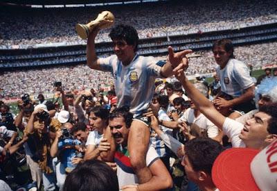 Mundial México '86, Maradona