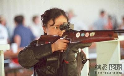 Los Angeles 1984 - Wu Xiaoxuan, oro en carabina tres posiciones