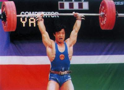 Los Angeles 1984 - Yao Jingyuan, oro en en halterofilia (-67.5 kg)