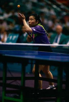 Atlanta 1996 - Deng Yaping, campeona individual y de dobles en tenis de mesa