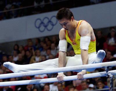 gimnasia olimpica en barras: