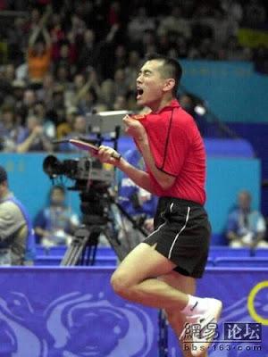 Sydney 2000 - Kong Linghui, campeón individual en tenis de mesa