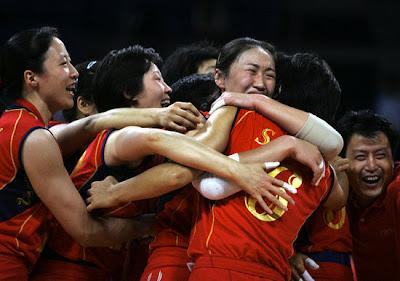 Atenas 2004 - China, oro en voleibol femenino