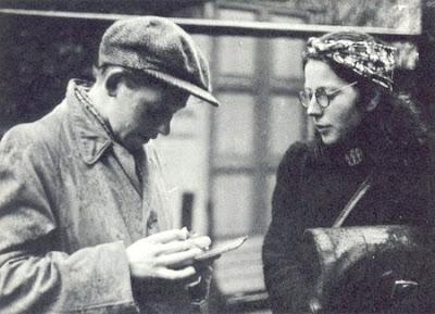 Hannie Schaft y Truus Oversteegen