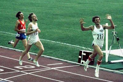 Final de 800 metros en Montreal '76, con triunfo de Juantorena y plata para Van Damme