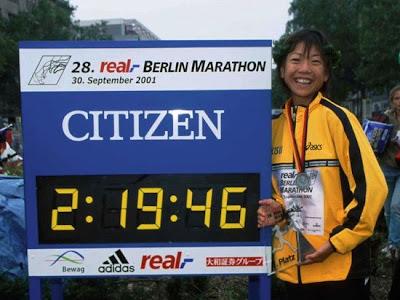 Naoko Takahashi - Berlín 2001