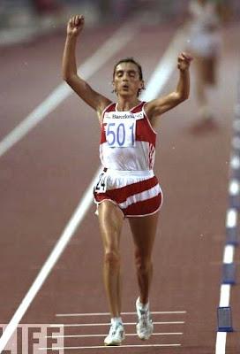 Valentina Yegorova - Barcelona 1992