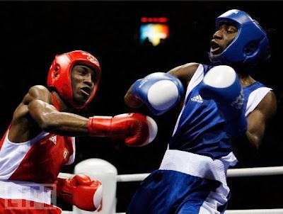 Yordenis Ugas, bronce en boxeo