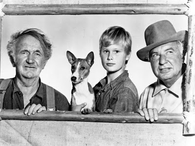 Walter Brennan, Brandon De Wilde y Phil Harris en Good-bye, My Lady (1956)