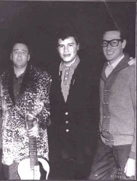 The Big Bopper, Ritchie Valens y Buddy Holly