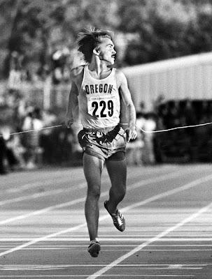 Steve Prefontaine en los Trials Olímpicos de Eugene (1972)