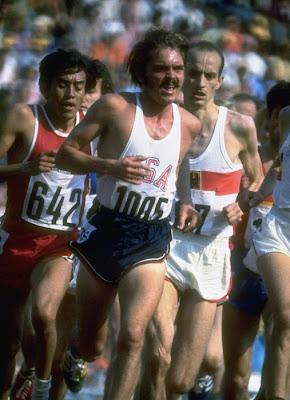 Steve Prefontaine en los Juegos de Munich '72