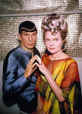 Spock y Amanda, Star Trek