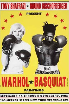 Jean-Michel Basquiat y Andy Warhol