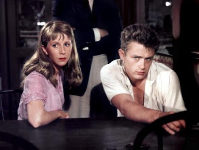 James Dean y Julie Harris en Al Este del Edén (1955)