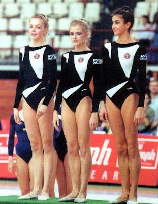 Oksana Skaldina, Oksana Kostina y Alexandra Timoshenko