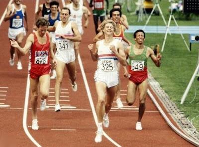 Steve Cram, final de los 1.500 metros - Helsinki 1983
