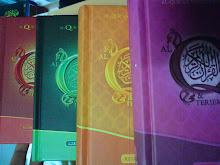 Terjemahan Al-Quran Darul Iman berbentuk buku kecil