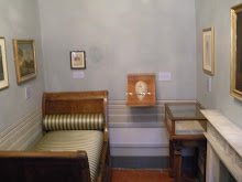 The room where John Keats died
