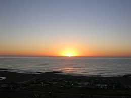 Amanecer en el Mar Argentino