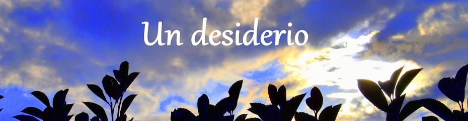 UN DESIDERIO - Susanna Bonaventura