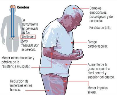 Andropausia, sintomas