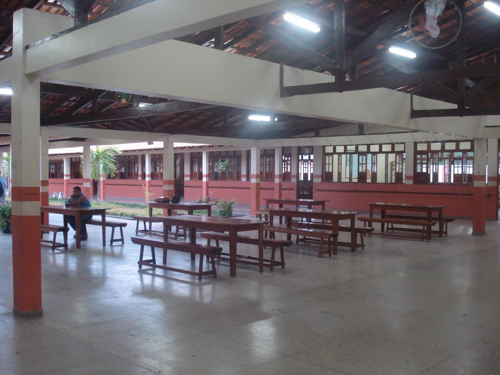 escola tem agora cozinha mais ampla depósito área de refeição  #844752 1600x1200 Adaptação Banheiro Cadeirante