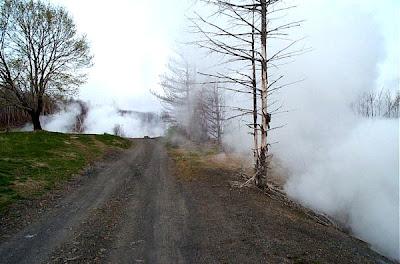 Centralia el Silent Hill Del Mundo Real Steam-rising-4