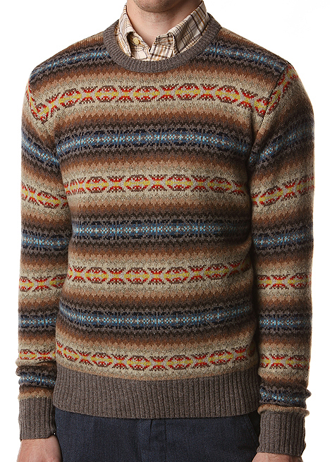 Blackbird Blog: GANT RUGGER FAIR ISLE SWEATER
