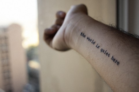 Inspired Literary Tattoos At http://www.contrariwise.org/ Enjoy xx