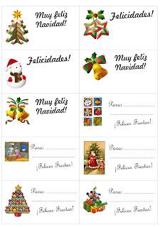 Tarjetas de navidad para imprimir con foto gratis
