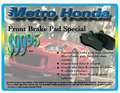 Metro Honda Flyer