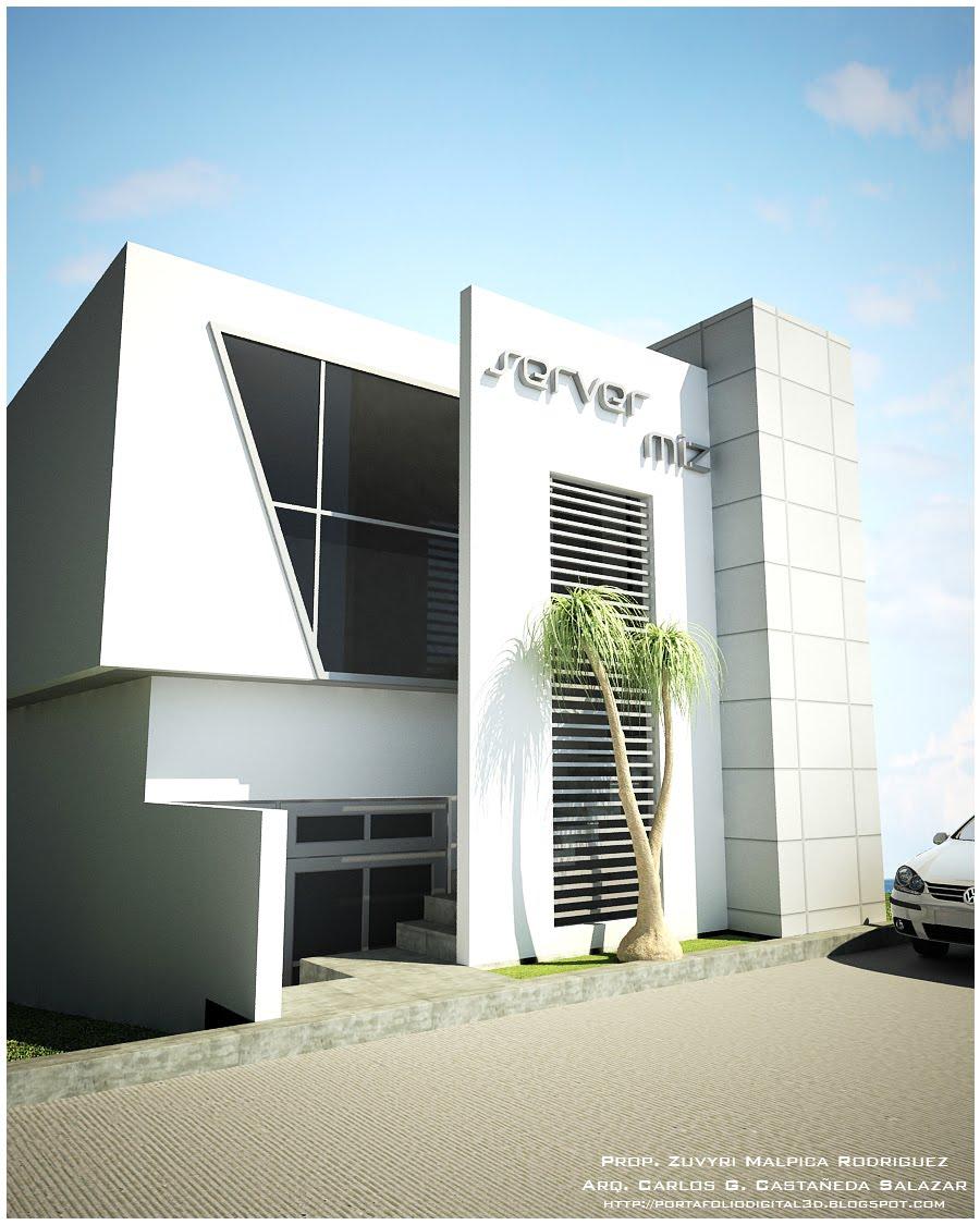 Proyectos arquitectonicos y dise o 3 d proyecto ejecutivo for Diseno de fachadas minimalistas