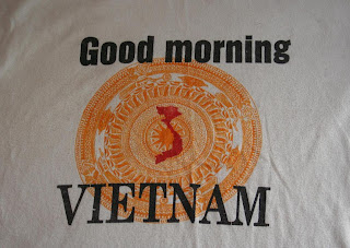 T-shirt travel: Good morning Vietnam - Not a Ballerina
