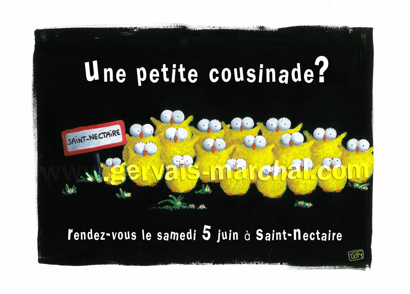 carte invitation cousinade