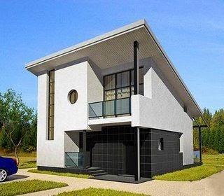 Estructuras metalicas construccion casas prefabricadas modernas - Construccion casas prefabricadas ...