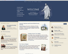 This blog is NOT an official Church website...To go to the official site, click on the photo below: